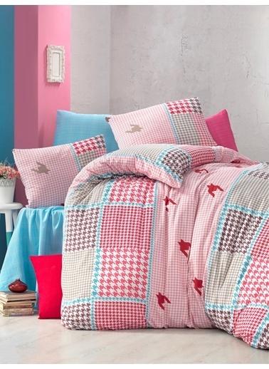 Komfort Home Tek Kişilik Polycotton Nevresim Takımı (İdil) Renkli